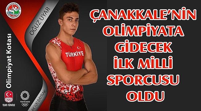 Çanakkaleli Sporcu Olimpiyat Yolcusu