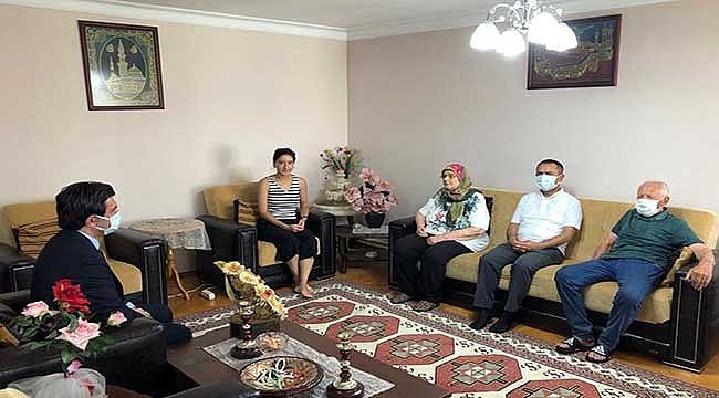 Şehit Ailelerine ve Gazilere Kurban Bayramı Ziyareti