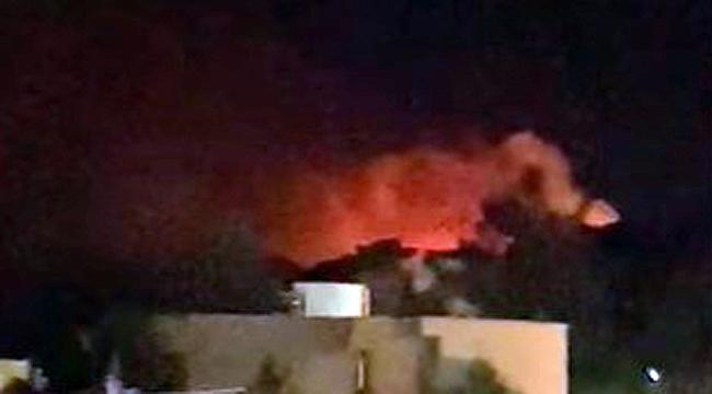 Çanakkale Ezine'de orman yangını!