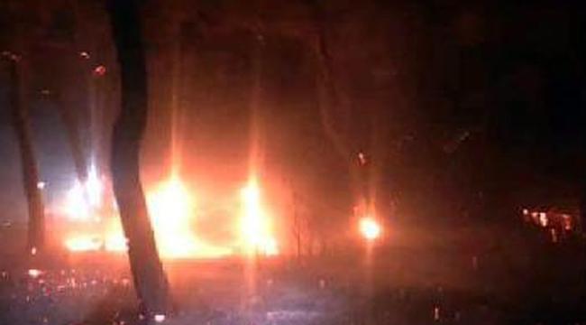 Ezine'deki yangın söndürüldü
