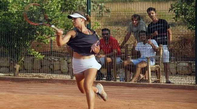 Çanakkale'ye tenis tarihinde bir ilki yaşattı