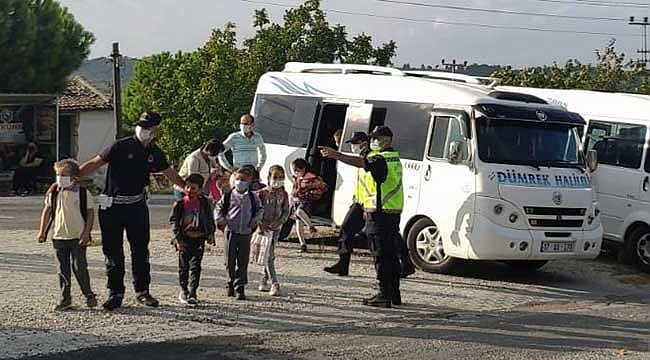 """""""Jandarma görevde okullarımız ve çocuklarımız güvende"""""""