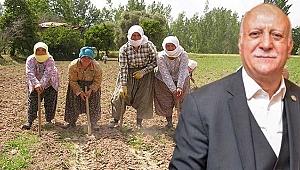 """""""Kadın çiftçilerimiz tarımın görünmez kahramanlarıdır"""""""
