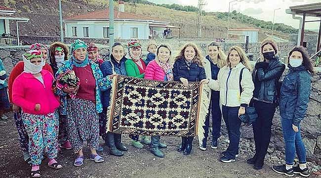 Kadın Girişimciler Kurulu, köylerde üreten kadınlarla buluştu