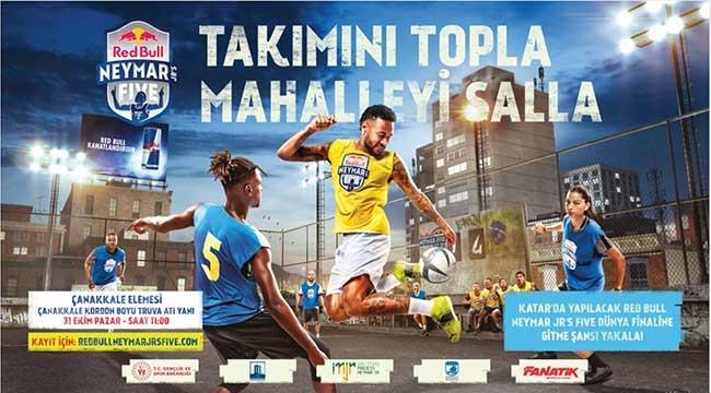Red Bull Neymar Jr's Five 2021 Futbol Turnuvası Çanakkale'de