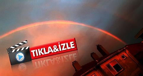Çanakkale'de çifte gökkuşağı
