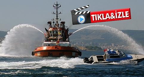Çanakkale'de Denizcilik ve Kabotaj Bayramı Kutlaması